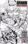 Spawn #224 Incentive Todd McFarlane Black & White Cover