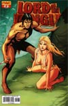 Lord Of The Jungle #8 Incentive Jose Malaga Tattered & Torn Risque Cover