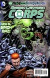 Green Lantern Corps Vol 3 #16 Regular Cafu Cover (Rise Of The Third Army Tie-In)