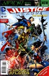 Justice League Vol 2 #16 Combo Pack With Polybag (Throne Of Atlantis Part 3)