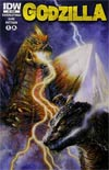 Godzilla Vol 2 #9 Regular Bob Eggleton Cover