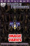 Transformers Spotlight Thundercracker Regular Cover (Filled Randomly With 1 Of 2 Covers)