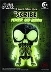 Scribe Toyer 5-Inch Mini Qee Glow-In-The-Dark Version