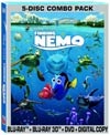 Finding Nemo 3D Blu-ray Combo DVD