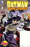 Halloween ComicFest 2012 Batman Adventures Scooby-Doo Where Are You Flip Book
