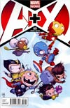 A Plus X #1 Variant Skottie Young Baby Cover