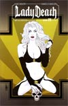 Lady Death Vol 3 #23 Incentive Art Deco Variant Cover