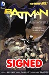 Batman Vol 1 The Court Of Owls HC Signed By Scott Snyder