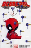 Deadpool Vol 4 #1 Variant Skottie Young Baby Cover