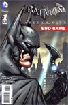 Batman Arkham City End Game #1 Incentive Patrick Gleason Variant Cover