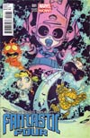 Fantastic Four Vol 4 #1 Variant Skottie Young Baby Cover