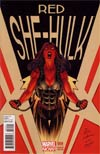 Red She-Hulk #59 Incentive Variant Cover