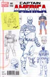 Captain America Vol 7 #1 Incentive Jerome Opena Design Variant Cover