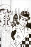 Steed And Mrs Peel Vol 2 #3 Incentive Drew Johnson Virgin Sketch Cover