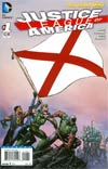 Justice League Of America Vol 3 #1 Variant Alabama Flag Cover