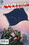 Justice League Of America Vol 3 #1 Variant Alaska Flag Cover
