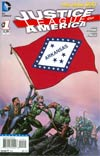 Justice League Of America Vol 3 #1 Variant Arkansas Flag Cover