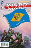 Justice League Of America Vol 3 #1 Variant Delaware Flag Cover