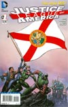 Justice League Of America Vol 3 #1 Variant Florida Flag Cover