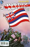 Justice League Of America Vol 3 #1 Variant Hawaii Flag Cover