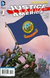 Justice League Of America Vol 3 #1 Variant Idaho Flag Cover