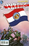 Justice League Of America Vol 3 #1 Variant Missouri Flag Cover