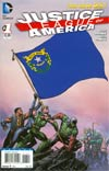 Justice League Of America Vol 3 #1 Variant Nevada Flag Cover