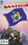 Justice League Of America Vol 3 #1 Variant New York Flag Cover
