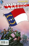 Justice League Of America Vol 3 #1 Variant North Carolina Flag Cover