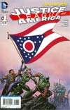 Justice League Of America Vol 3 #1 Variant Ohio Flag Cover
