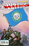 Justice League Of America Vol 3 #1 Variant South Dakota Flag Cover