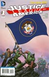 Justice League Of America Vol 3 #1 Variant Utah Flag Cover