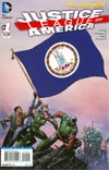 Justice League Of America Vol 3 #1 Variant Virginia Flag Cover