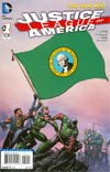 Justice League Of America Vol 3 #1 Variant Washington Flag Cover