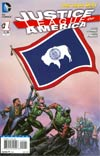 Justice League Of America Vol 3 #1 Variant Wyoming Flag Cover