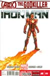 Iron Man Vol 5 #6 1st Ptg Regular Greg Land Cover