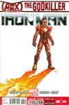 Iron Man Vol 5 #6 1st Ptg Regular Greg Land Cover