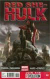 Red She-Hulk #62 Regular Jana Schirmer Cover