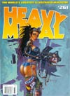 Heavy Metal #261 Feb 2013 Previews Exclusive Edition Gun Cover