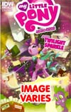 My Little Pony Micro-Series #1 Twilight Sparkle Regular Cover (Filled Randomly With 1 Of 2 Covers)