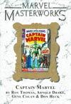 Marvel Masterworks Captain Marvel Vol 1 TP Direct Market Edition