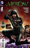 Arrow #1 Incentive Mike Grell Variant Cover