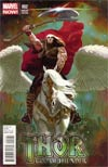 Thor God Of Thunder #2 Incentive Daniel Acuna Variant Cover