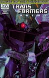 Transformers Prime Rage Of The Dinobots #1 Incentive Shockwave Animated Series Character Variant Cover