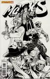 Masks #1 Incentive Ardian Syaf Black & White Cover