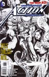 Action Comics Vol 2 #15 Incentive Rags Morales Sketch Cover