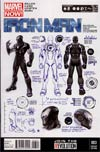 Iron Man Vol 5 #3 Incentive Carlo Pagulayan Design Variant Cover