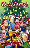 Garfield #8 Incentive Gary Barker Santa Meets Jim Davis Variant Cover