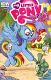 My Little Pony Friendship Is Magic #1 1st Ptg Regular Cover D Rainbow Dash