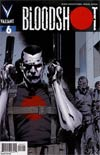 Bloodshot Vol 3 #6 Incentive Trevor Hairsine Variant Cover